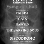 Friday October 28th. The Barking Dogs + Discodromo @ PINK IS PUNK
