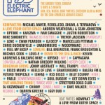 12th – 16th July. Elctric Elephant